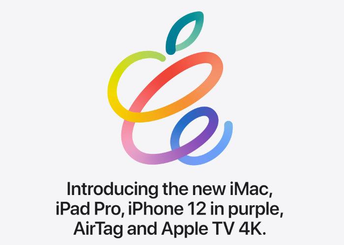 Événement Apple Spring Loaded 2021