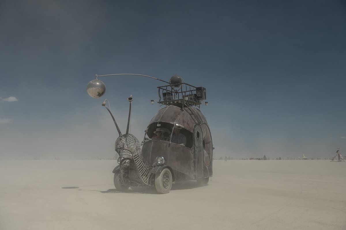 Véhicules mutants à Burning Man