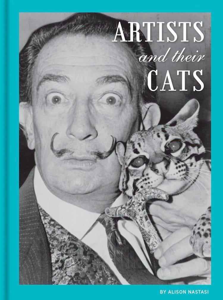 Les artistes et leur livre de chats