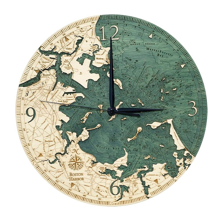 Horloge du port de Boston