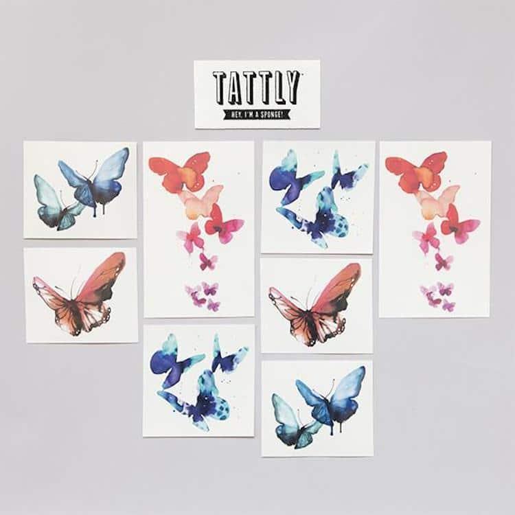 Tatouages de Papillon