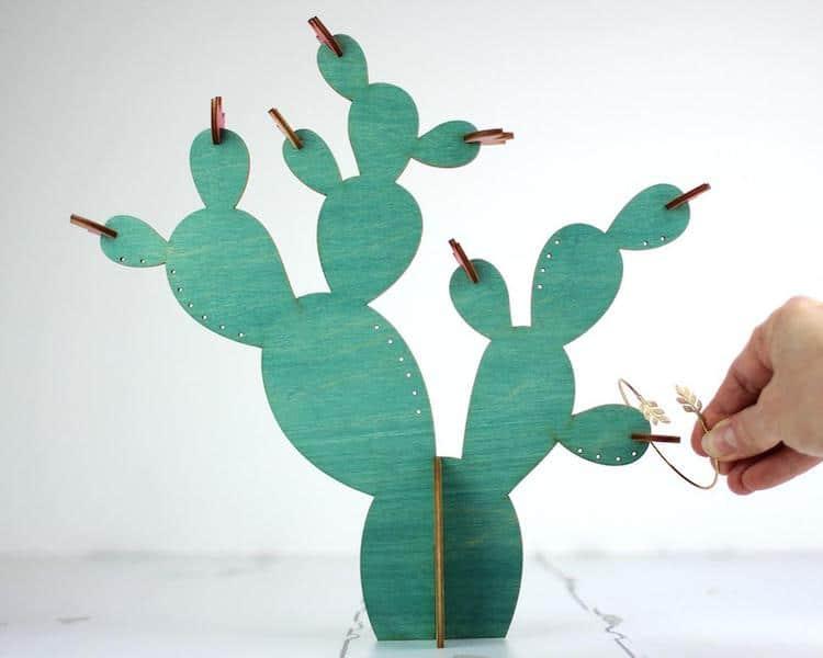 Porte-Bijoux Cactus