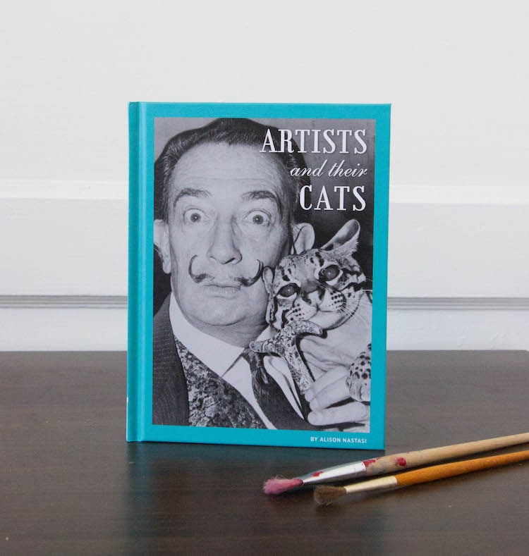 Livre d'artiste et de chats