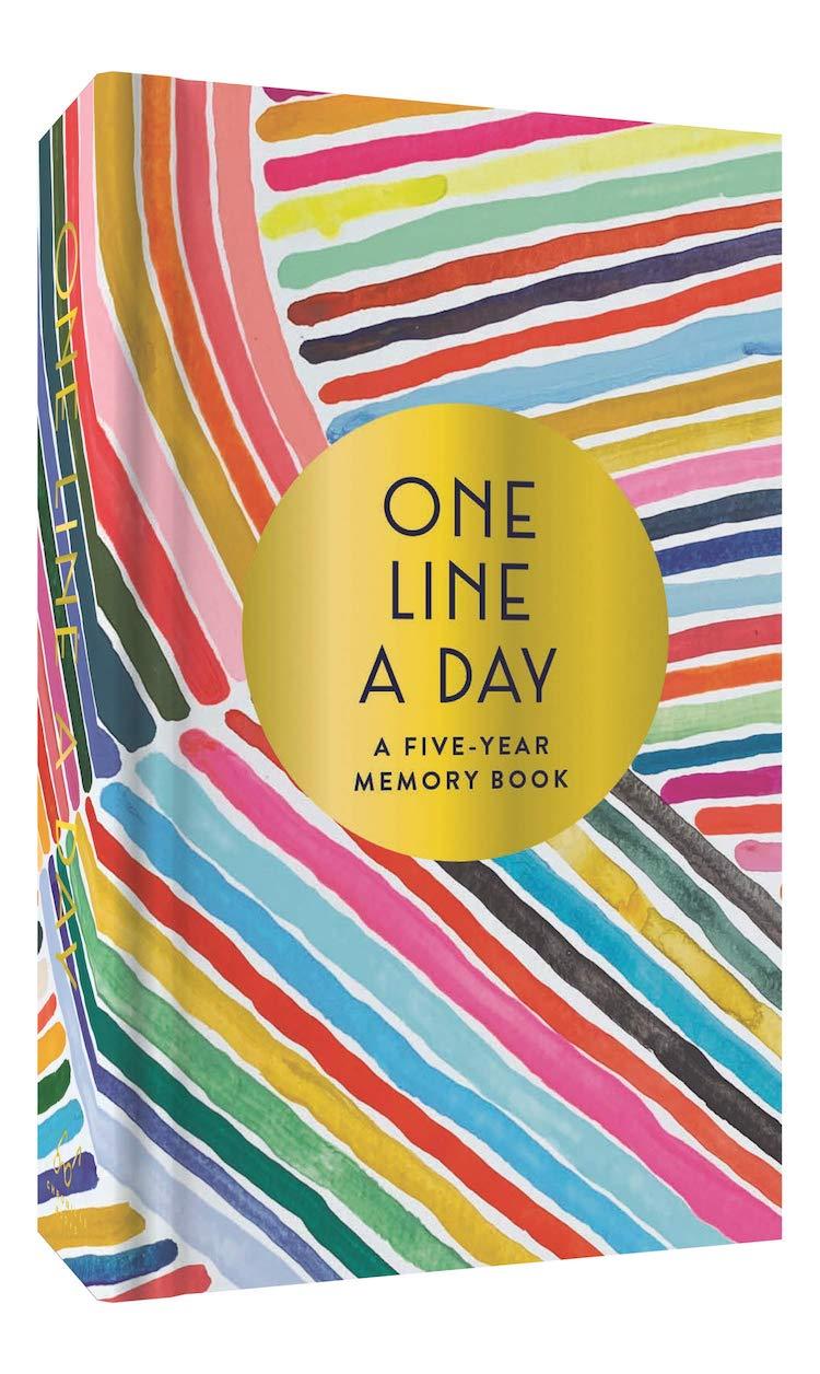 Livre de mémoire une ligne par jour