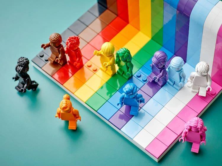 Ensemble LEGO du mois de la fierté pour tout le monde