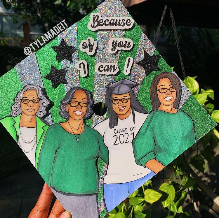 Casquettes Creative Grad pour l'obtention du diplôme
