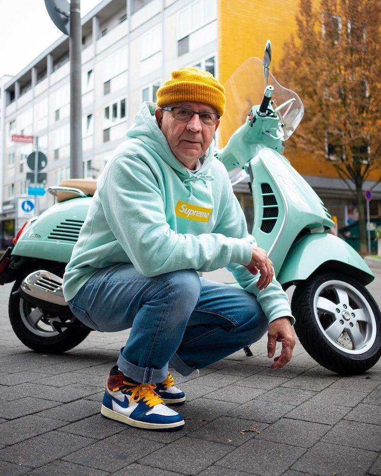 Photographie de rue Senior Fashion par Jannik Diefenbach