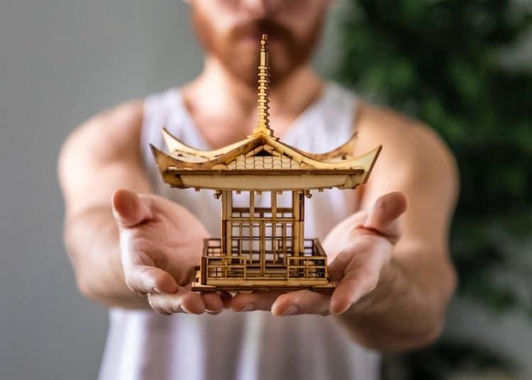 Kit de lanterne de pagode japonaise