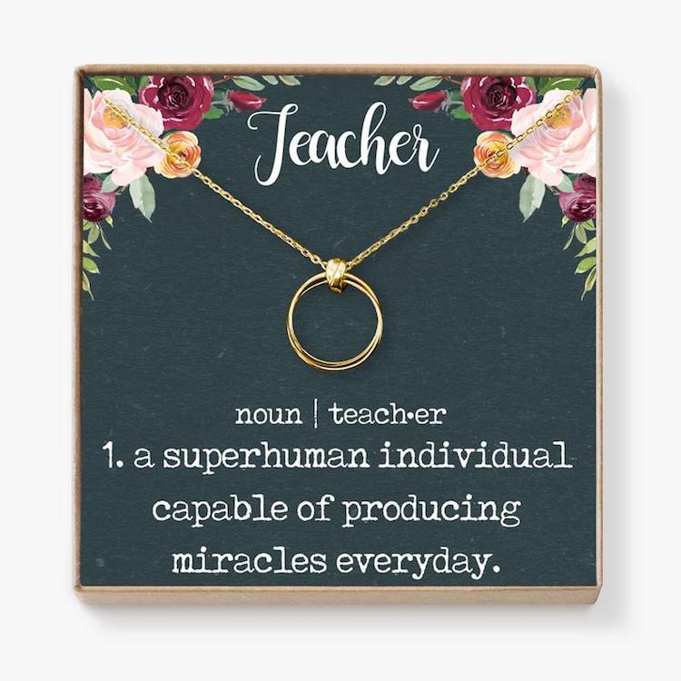 Cadeaux des enseignants
