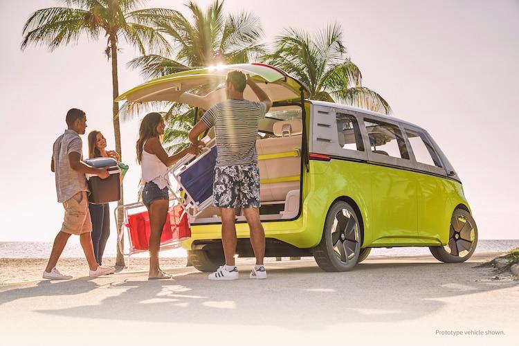 Voyage sur la route Volkswagen ID Buzz