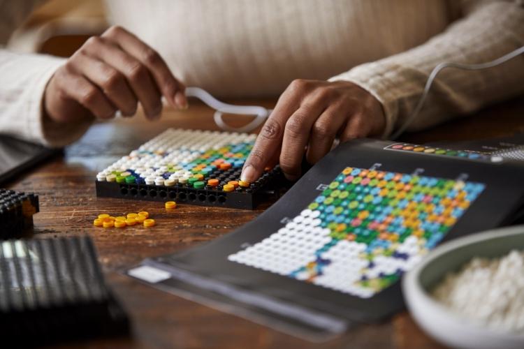 Carte du monde Lego