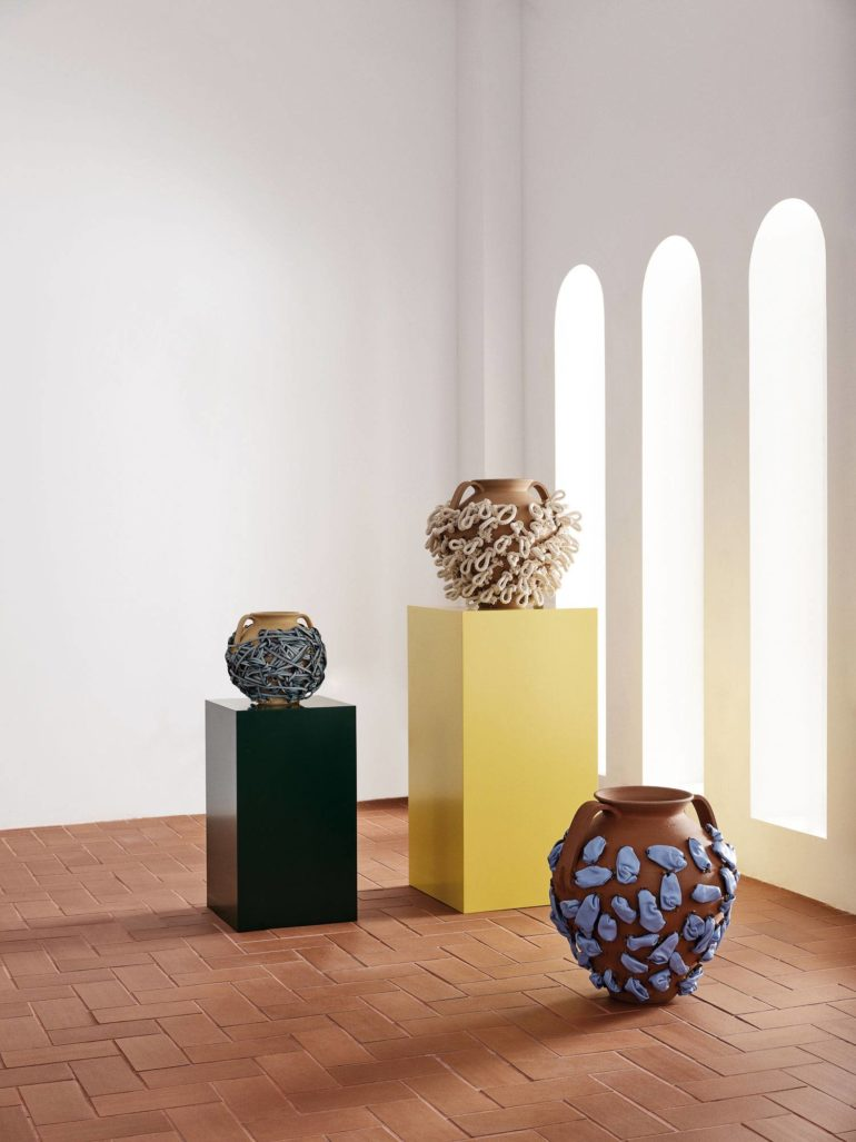 Projet Loewe Weaves : une collection d'objets artisanaux uniques