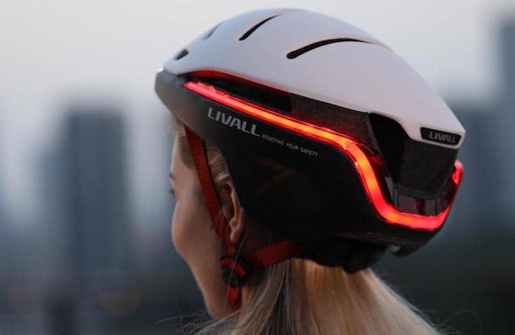 Vue arrière du casque de vélo EVO21
