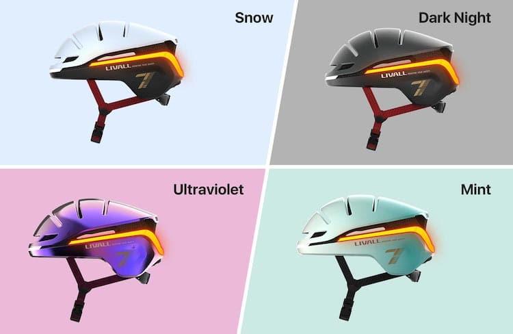 EVO21 disponible en quatre couleurs