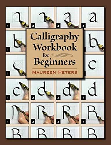 Cahier d'exercices de calligraphie pour débutants