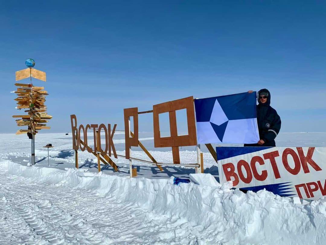 Alexey Golubev, employé de l'Institut de recherche russe sur l'Arctique et l'Antarctique