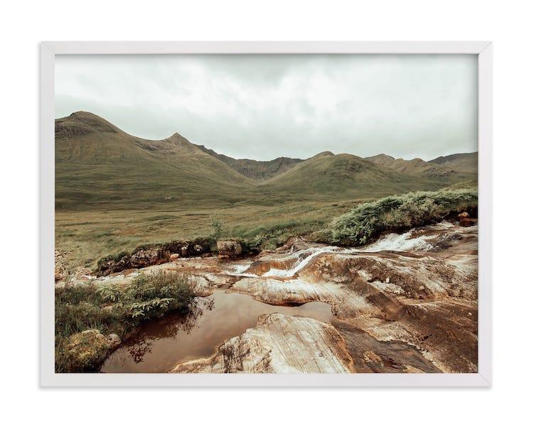 Photographie de paysage écossais