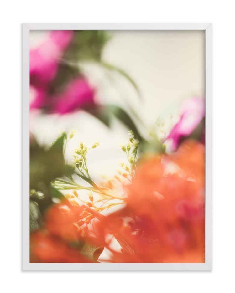 Photo artistique de fleurs