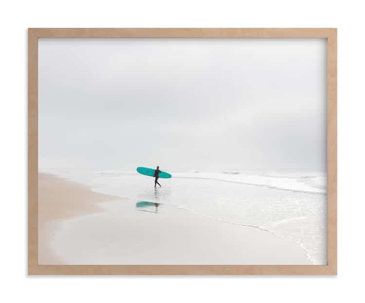 Photographie d'art de surfeur en Californie
