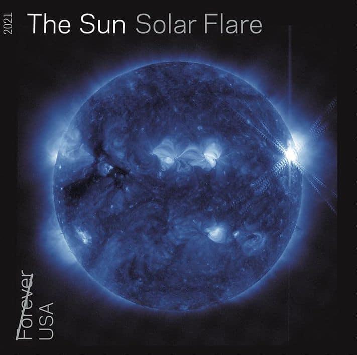 Le timbre Sun Solar Flare