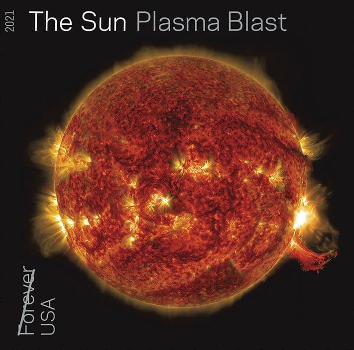 Tampon Soleil Explosion Plasma