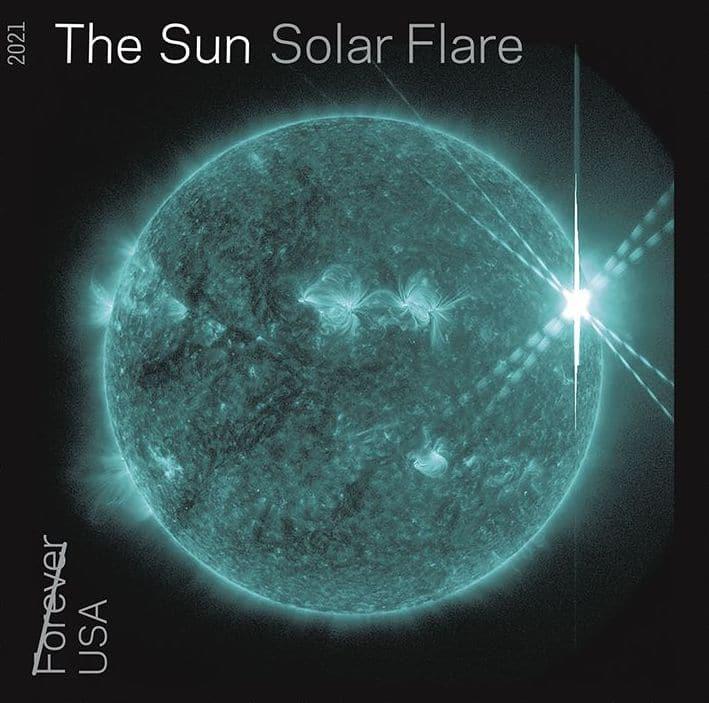 Timbre Soleil Feu Solaire