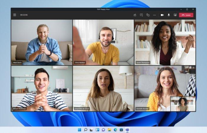 Premier aperçu du chat Windows 11