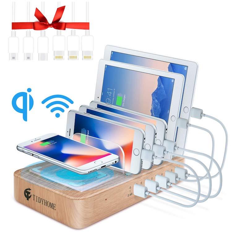 Station de charge rapide pour tablettes et téléphones