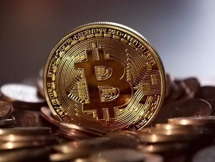 Portefeuille matériel carré pour Bitcoin