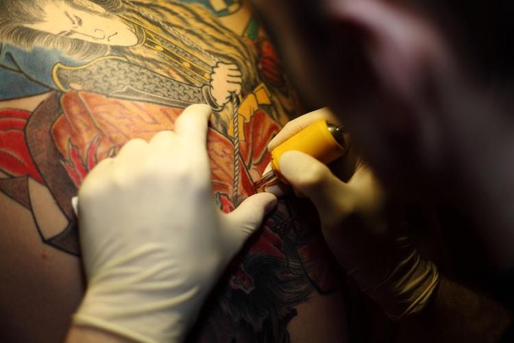 L'histoire des tatouages japonais traditionnels