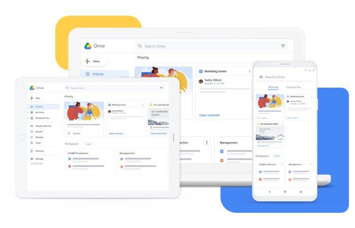 nouvelle application Google Drive