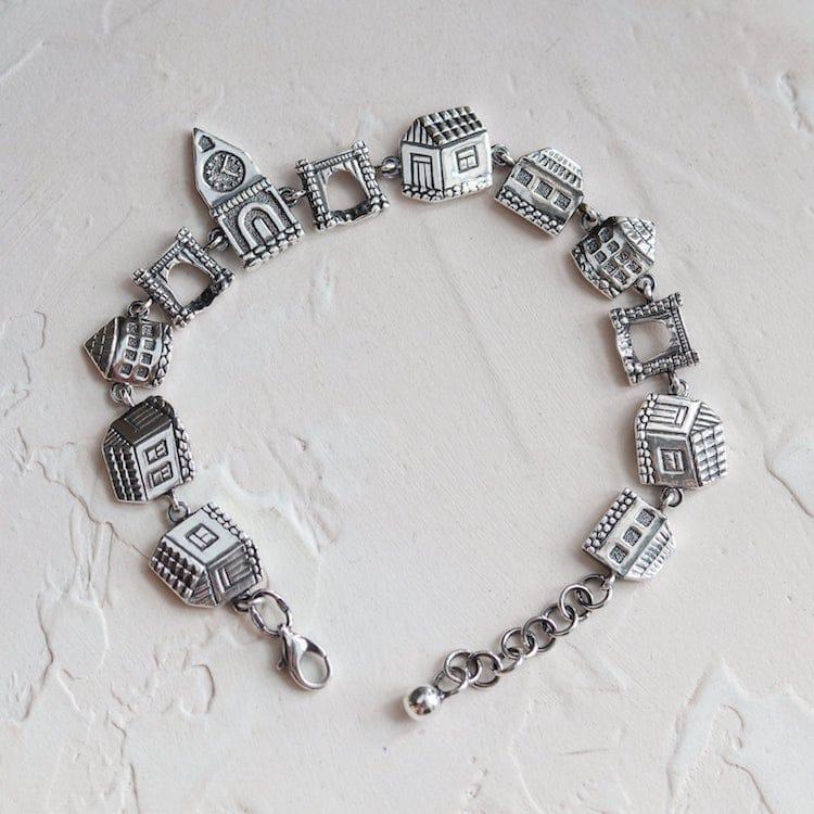 Bracelet Ville Vieil Argent