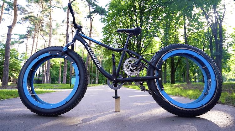 Le vélo Q Hubless