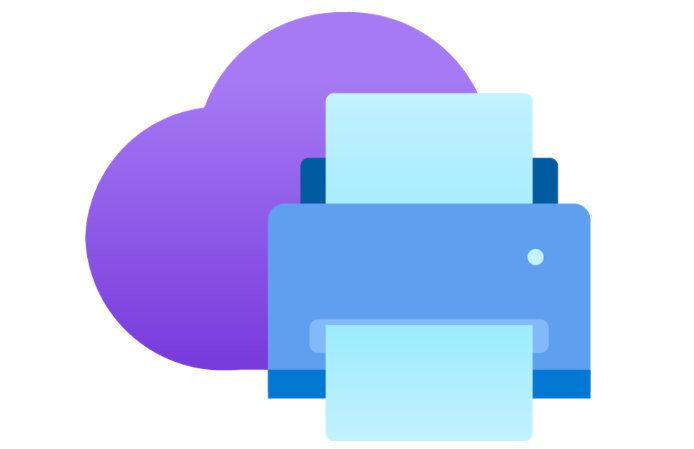 Impression universelle Microsoft OneDrive