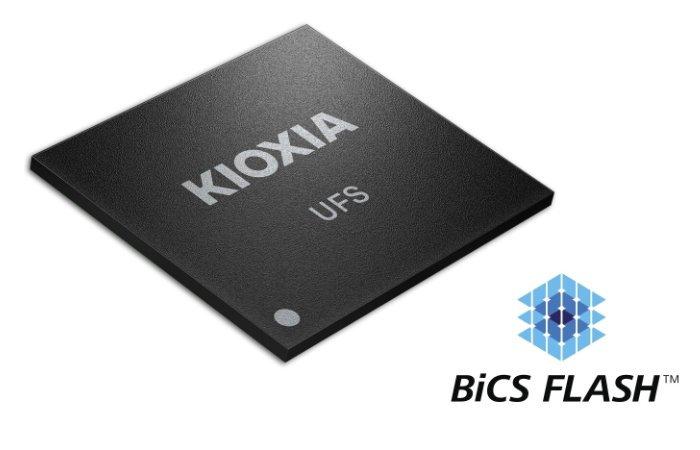 Nouvelle mémoire flash embarquée KIOXIA Ver 3.1 UFS