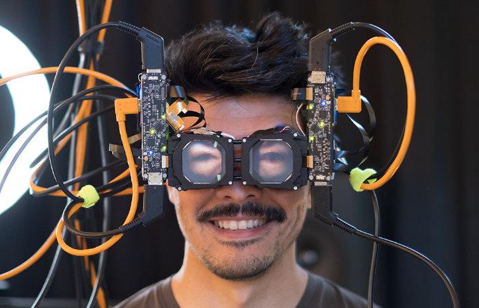 Casque VR Reverse Passthrough