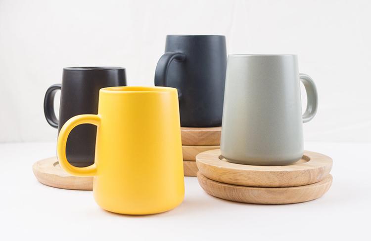 Tasses à café modernes nordiques en céramique