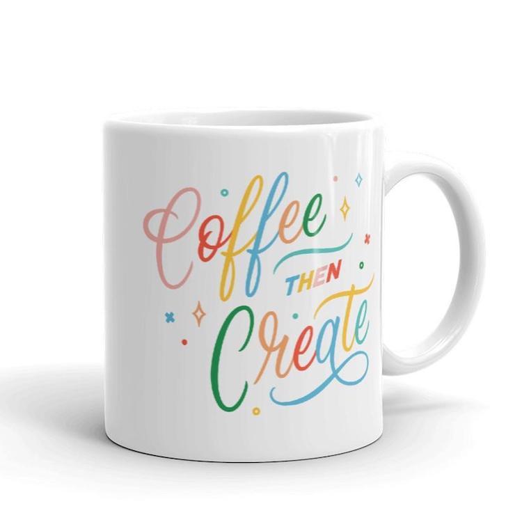 Café puis créer une tasse