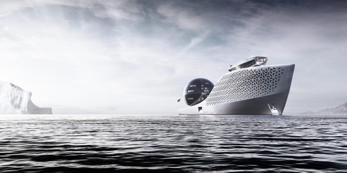 Earth 300 Mega Yacht pour la recherche en haute mer