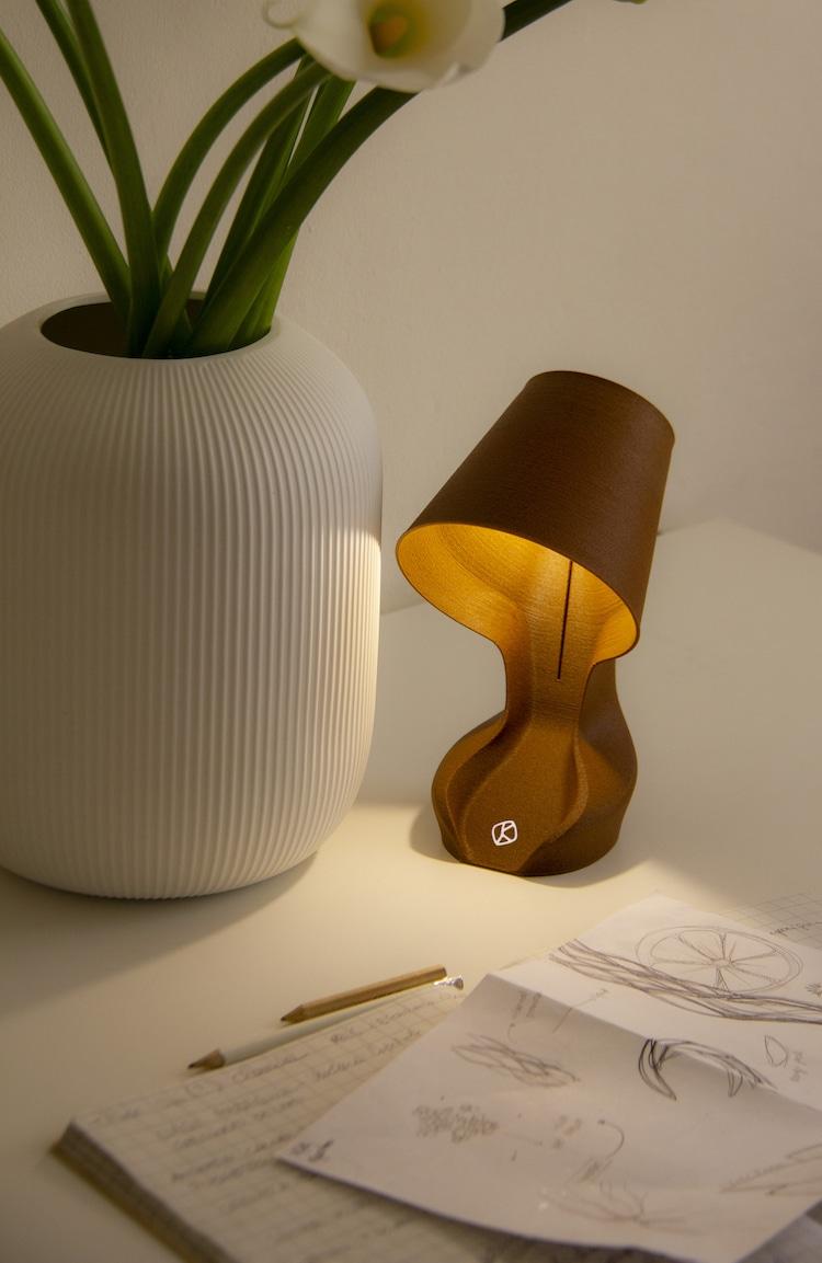 Lampe peau d'orange Ohmie