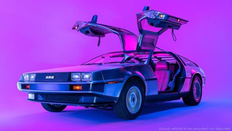 Retour vers le futur voiture