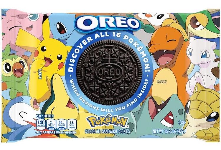 Biscuit Pokémon x OREO