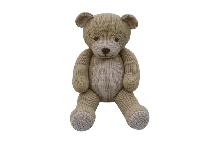 Modèle de tricot ours en peluche