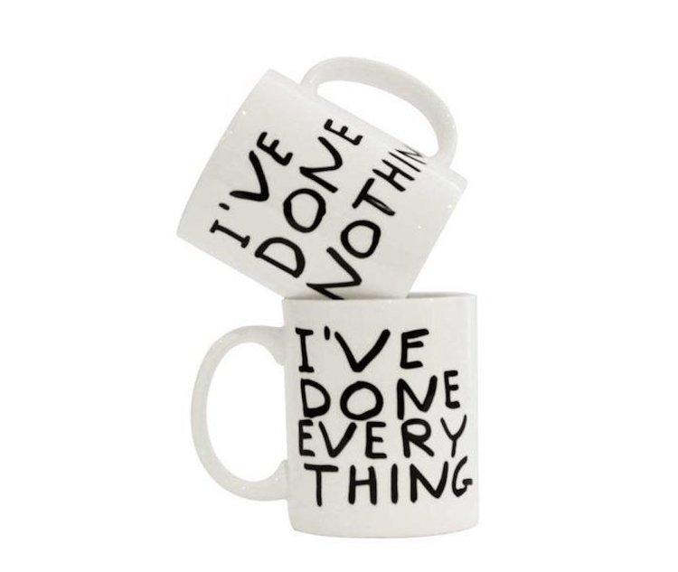 David Shrigley J'ai tout fait Mug